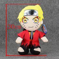 Wholesale Free Naruto Games - 30cm Anime Uzumaki Naruto stuffed plush Christmas Gift Free Shipping