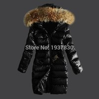 Wholesale Long Jackets Women Cheap - Winter Coat Women 2017 New Fashion Women's Casual Down Jacket Coats High Quality Outdoor Fur Collar Warm Long Down Parka cheap