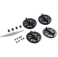 Wholesale Ar Drone Pinion Gear - RC Quadcopter Spare Parts Motor Pinion Gear + Shaft Set for Parrot AR Drone 2.0 Quadcopter