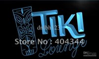 Wholesale Led Tiki Bar - LM002-TM Tiki Lounge Mask Bar Pub Neon Light Sign. Advertising. led panel, Free Shipping, Wholesale