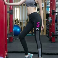 Wholesale Female Tights - Body Sculpting Fashion Yoga Pants Quick-Drying Bodybuilding Sweat Sports Trousers Female Jogging Tights Leggings Women Sexy VSX outfits
