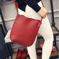 2017 New Fashion Women Sac en cuir PU Hobo Sac à bandoulière Lady girls satchel crossbody bag