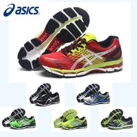 Wholesale Nude Color Shoes Flats - New Color Asics Nimbus17 Running Shoes For Men ,High Quality Breathable Athletics Discount Sneakers Sports Shoes Eur 36-45 Free Shipping