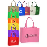 Wholesale Cheapest Weave Prices - customized 80g non woven shopping bag 30*40*10CM own logo printing with cheapest price