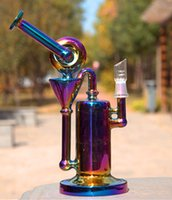 Wholesale Perfect Base - Vertigo Pillar based Recycler bongs water pipes with showerhead perc pillar diffusor perfect for vapor use