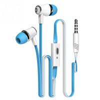 ingrosso alta qualità delle cuffie del mp3 mp4 degli auricolari-All'ingrosso-JM21 cuffie auricolari da 3,5 mm con microfono per iPhone 5 5S 4 6 Plus Samsung LG Huawei MP3 MP4 MP5 di alta qualità miglior basso