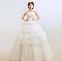 Wholesale China Wedding Dresses Suppliers - China Supplier Wedding Dress Ball Gown backless Lace Wedding Dresses bride sexy boob tube top wedding dress