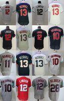 Wholesale order baseball jersey cheap - Mens Cleveland Jersey 11 Jose Ramirez 28 Corey Kluber Grey 100% Stitched Embroidery Logos Baseball Jerseys Cheap Mix Order