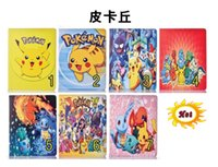 Pikachu Poke intelligente Cartoon Housse en cuir Pouch Support Pour Ipad Mini 4 1 2 3 7.9