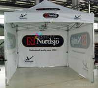 Wholesale Show Tents - 3X3m Custom Print Outdoor Advertising Folding Popup Canopy  Custom Printed 10X15FT Trade Show Tent Marquee   Free shipping