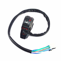 Wholesale Horn Switches - Motorcycle Control High Low Beam Turn Signal Light Horn Left Switch Dirt Bike