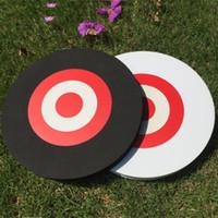 Black White Foam EVA Hunting Targets Archery Arrow Outdoor Shooting Game Target Practice 25*3cm Easy Moving Targets