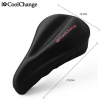 Wholesale Bicycle seat mountain bike seat cover silica gel comfort cushion bicycle seat cover thickening saddle soft