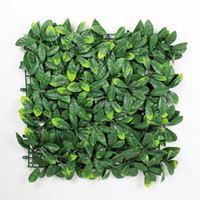 "Wholesale Artificial Hedge Fence - 12 Pieces 20"" x 20"" Outdoor Plastic Garden Grass Fence Sythenic Artificial Shurbs Garden Ornaments Artificial Boxwood Hedges Panels"
