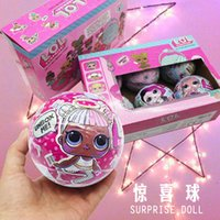 Wholesale Naked Girls - LOL Surprise Blind Mystery Ball Toys L.O.L Doll Series 1 Let be friends Fun Dolls Naked Ball