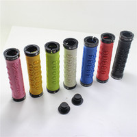 All'ingrosso-BMX biciclette MTB Manubrio Lock-on Grip Mountain Bike Grips Fixed Gear Fixie Grips 1 coppia