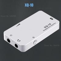 Wholesale Headphone Amplifier Case - Freeshipping XDUOO XQ-10 mini potable earphone headphone AUDIO amplifier ,metal case & big power & high quality sound