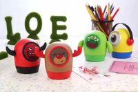 милый динамик tf оптовых-Bluetooth спикер милый мини беспроводной глубокий бас кукла спикеры мультфильм сабвуфер спикер поддержка TF карты детский подарок