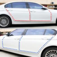 Wholesale Alfa Audi - 3Meter car door adhesive anti shine fit for Audi opel alfa Toyota Peugeot BMW Renault car accessoties car styling