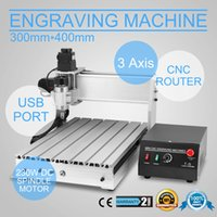 Wholesale Milling Machine Cutting Tools - Free shipping USB CNC ROUTER ENGRAVER ENGRAVING CUTTING 3 AXIS 3040T Engraving Drilling and Milling Machine 3Axis Carving cutting tool