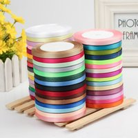 Wholesale Mix Colors Ribbon 6mm - 6mm X 22m Mixed 19 Plain Colors Grosgrain Ribbon Set For DIY Wedding Ribbon Package Ribbon Handmade Jewelry Materials DHL Free Shipping