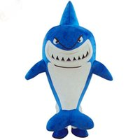 Wholesale Outlet Costumes - Factory Outlets Hot Sale classical Shark pretty girl doll Halloween Fancy Dress Cartoon Adult Animal Mascot Costume free shipping