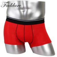 Wholesale Basic Underwear - 2017 Fashion Men Underwear Casual Comfortable Men Basics Short Trunks Boxer Underwear 4 Colors