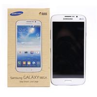 samsung galaxy mega 5.8 оптовых-Восстановленные Samsung Galaxy Mega 5.8 I9152 сотовый телефон 5.8