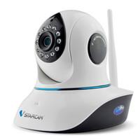 kamera sd ir ip toptan satış-Pan / Tilt SD Kart Yuvası ve IR Cut İki Yönlü Sesli Vstarcam C38A 960P HD P2P 1.3 MegaPiksel Kablosuz IP Kamera