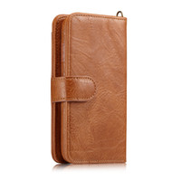 Wholesale Iphone Cover Lady - Multifunction Wallet Leather Case For iphone8 Purse Pouch Phone Cases Lady Handbag Cover