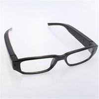 cámaras de grabación activadas por movimiento al por mayor-5 unids / lote 32 GB Mini HD 720 P Gafas de la Cámara Mini Gafas de Sol DVR Gafas Grabadora de Video Micro Lentes Cam Camcorder Portátil Envío Gratis