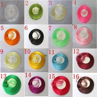 Wholesale Christmas Gift Wrap Sale - SALE! Wedding Decoration Gift Carfts 500 Yard Organza Ribbon Scrapbooking High quality Christmas decoration wrapping ribbons