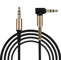 Wholesale pc led cable for sale – best 1M mm AUX Cable Male to Male M M Jack Audio Stereo Aux Cables Cord Lead For iphone phone PC MP3
