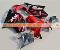Wholesale Honda Cbr954rr - 3 gifts New ABS Fairing Kits 100% Fitment For HONDA CBR954RR CBR900RR 02 03 CBR CBR900 900RR 954 954RR CBR954 RR 2002 2003 red black color