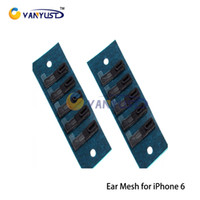 Wholesale Screens Ears - Ear Speaker Earpiece Anti Dust Screen Mesh for iPhone 5G 5s 5c 6 4.7 inch 5.5 inch Plus Replacement