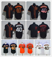 98d78b334 ... Latest Style San Francisco Giants Elite Game Jersey 40 Madison  Bumgarner Baseball Jerseys White Black Stitching ...