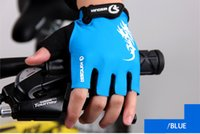 Wholesale Giant Glove Half Finger - Bike Gloves giant Half Finger Cycling Gloves MTB Bicycle Spring Off Road Motocross Gloves Guantes Ciclismo