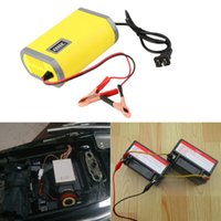 Wholesale gel charger - 12V 6A Motorcycle Car Auto Storage Battery Charger Intelligent Charging Machine Portable Adapter Power Supply LCD display Lead acid gel Type