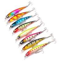 Wholesale 8 color cm g Hard Plastic Lures Fishing Hooks Fishhooks D Minnow Fishing Lure Hook Artificial Bait Pesca Tackle Accessories