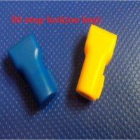 Wholesale Security Hook Lock - Wholesale- 50pcs lot EAS locklifting stop lock for stem&peg security display hook(no magnetic key!!!)