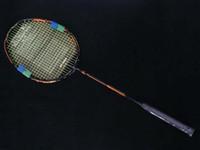Wholesale Orange Tip - DUORA 10 badminton racket Carbon DUO10 Green Orange Badminton Racket (LIN DAN,LEE CHONG WEI)