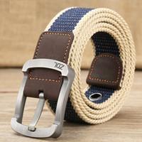 2017 cinturón militar cinturón táctico al aire libre menwomen cinturones de  lona de alta calidad para los pantalones vaqueros masculino ceintures casual  de ... 99cc3cf048bf