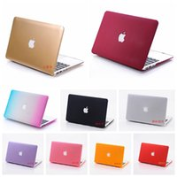 Wholesale Notebook Pvc Skin - Laptop Case for apple Macbook Air Pro Retina 11 13 15 2016 Matte Hard Plastic skin protective cover for mac book notebook