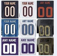 Wholesale Green Bay Football Jerseys - Personalized american football jerseys Chicago Minnesota Bears Detroit Green Bay Lions Packer Vikings Aaron Rodgers cheap kid custom jersey