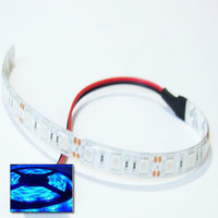 Wholesale Model Strips - Warm White 5050 LED 10cm 15cm 30cm 60cm Car Strip Waterproof Blue Red Green 9V to 12V DC Caravan Boat Model Fairground Funfair LED Light