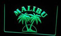 Wholesale Rum Signs - LS256-g Malibu Rum Bar Pub Neon Light Sign