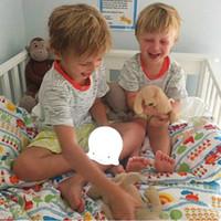 bebekler için gecelik hafif oyuncaklar toptan satış-Mini Beyaz Hayalet Led Gece Işık Bebek Oyuncakları Çocuklar Çocuklar Için Led Lambalar Noel Doğum Günü Hediye Ev Yatak Odası Dekorasyon
