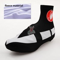 Wholesale Ciclismo Shoes - Winter Thermal Fleece 2015 casteli Team Cycling Sport Shoe Cover MTB Bike Ciclismo Shoe Cover Super Warm Racing MTB Bicycle Cycle Shoe Cover