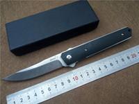 Wholesale Folding Knife Boker - BOKER Kwaiken Ball Bearing Flipper Folding Knife G10 Handle VG10 Steel Outdoor Camping Survival Knives EDC Pocket Knife