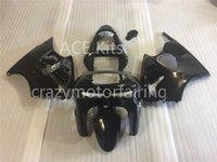 Wholesale 98 Zx6r Fairings - 3 Free gifts New Fairing kits for 98 99 ZX 6R 636 1998 1999 Ninja ZX6R ZX636 ABS fairings Body kits hot Black